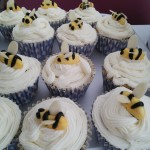 Bee buns swarn ... but don't last long on the cake stall.