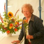 Thank you Tilly ... our expert flower arranger.