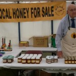 Honey sales were successful - a sell out!