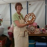 WDBKA wins the Branch Shield ... presented to our Chairman, Sarah More.